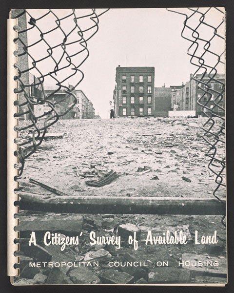 Met Council on Housing publication (1964).